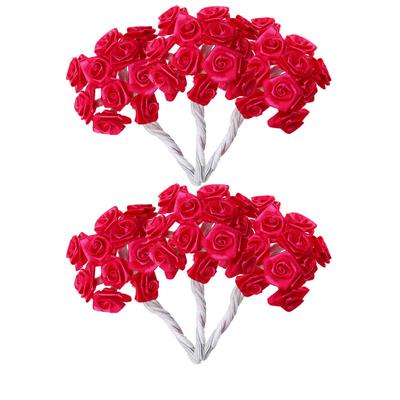 Mini roses fuchsia