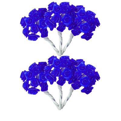 Mini roses bleu roy