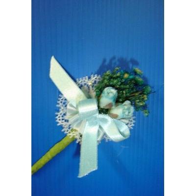 Bouquet Fleurs Bleues Ou Boutonnière