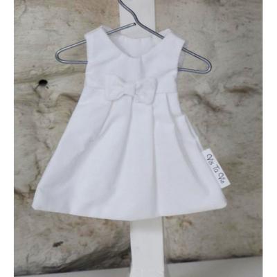 3 robes à dragées blanches