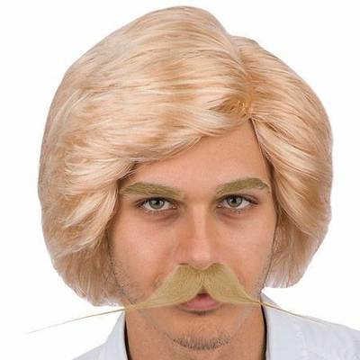 Perruque Homme Blonde 70'