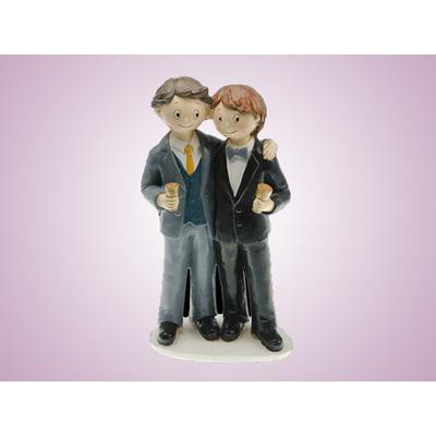Figurine couple mariés hommes