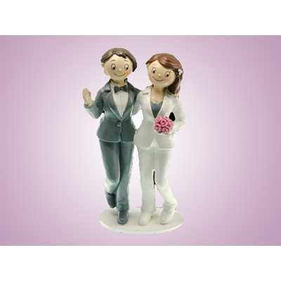 Figurines mariage entre femmes