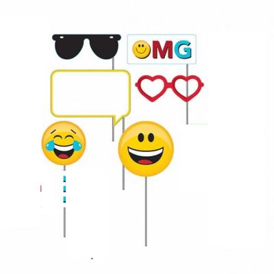 6 accessoires photos emoji , émoticône