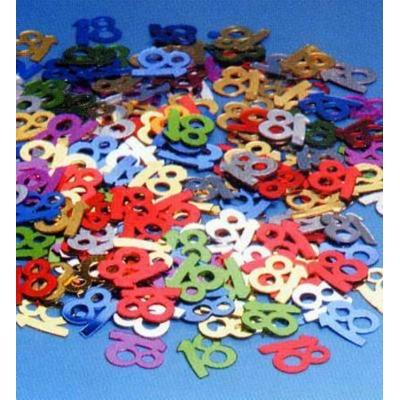 Confettis de Tables 18 Ans