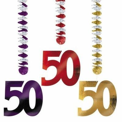 3 Suspensions 50 Ans 76 Cm