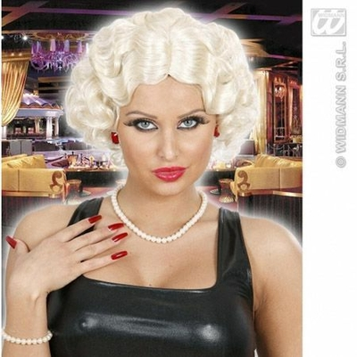 Perruque Année Folle Blonde