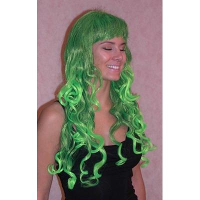 Perruque Elfe Verte