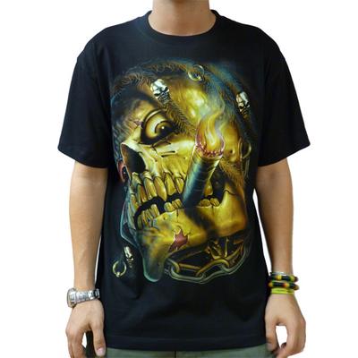 Tee shirt rock glow