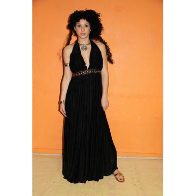 Costume luxe de prêtresse noire