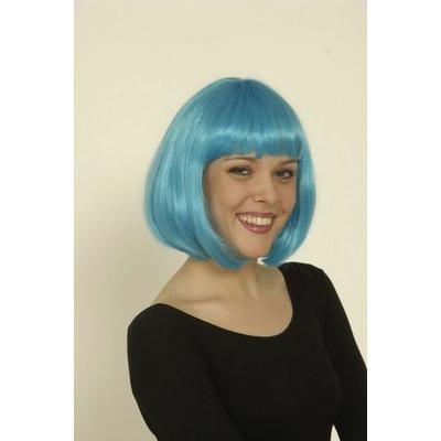 Perruque Charleston Turquoise