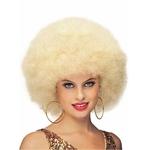 perruque afro maxi blonde