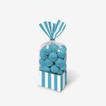 sac a bonbons bleus turquoises