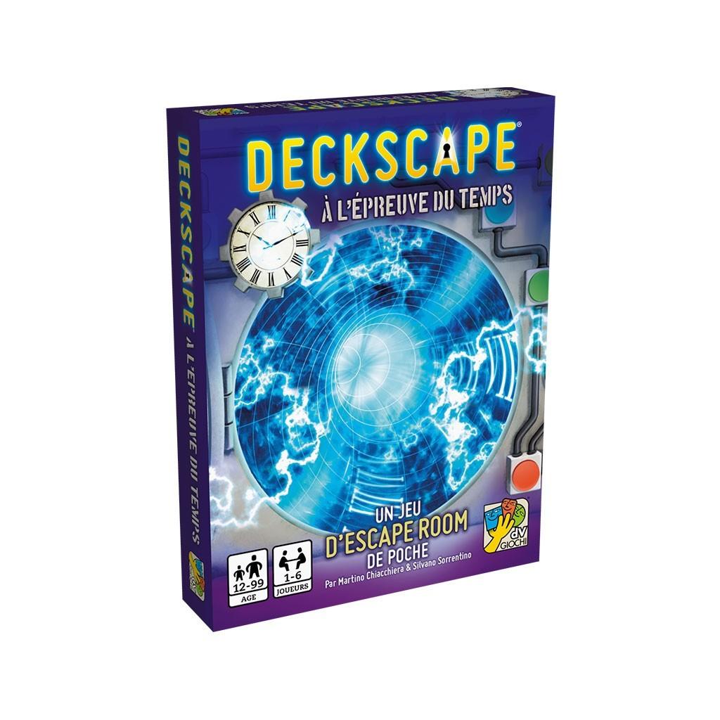 A l'épreuve du temps - Deckscape -Escape Game - Great Escape - Jeu de société d'évasion