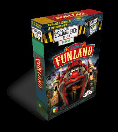 Escape Room Le Jeu - Boîte extension Funland - Escape Game - Jeu d'évasion - Great Escape medium
