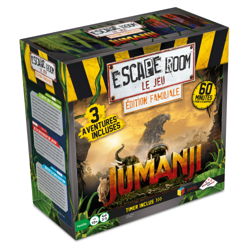 Escape Room Le Jeu - JUMANJI Edition familiale - Escape Game - Jeu d'évasion - Great Escape 500x500