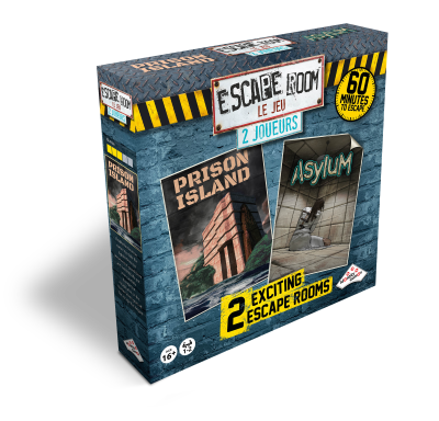Escape Room Le Jeu - 2 joueurs - Escape Game - Jeu d'évasion - Great Escape 400x400