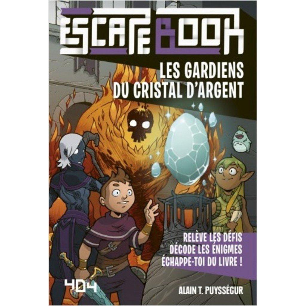 Escape book- Les gardiens du cristal d'argent - Escape Games - Jeu de société d'évasion - Escape rooms - Great Escape