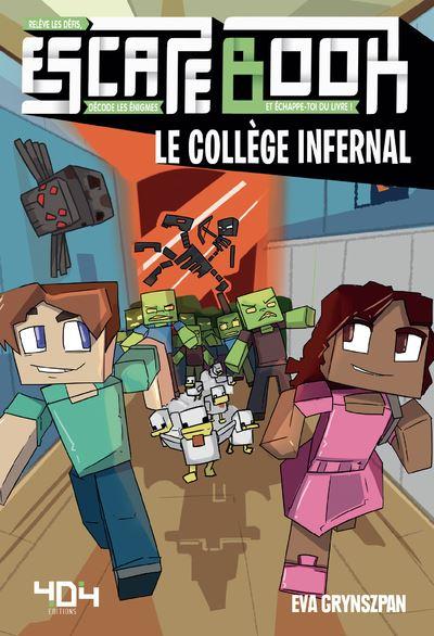 Escape book- le collège infernal - Escape Games - Jeu de société d'évasion - Escape rooms - Great Escape