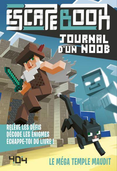 Escape book- Journal d'un noob - Escape Games - Jeu de société d'évasion - Escape rooms - Great Escape