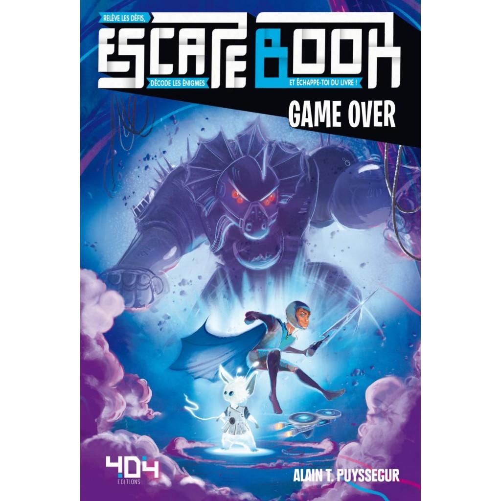 Escape book- Game over - Escape Games - Jeu de société d'évasion - Escape rooms - Great Escape