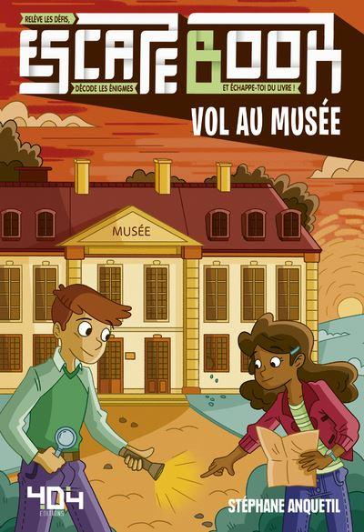 Escape book- Vol au musée - Escape Games - Jeu de société d'évasion - Escape rooms - Great Escape