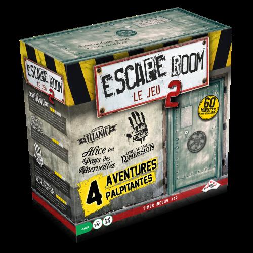 Escape Room Le Jeu 2 - Boîte - Escape Game - Great Escape medium