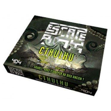 Escape box- Cthulhu - Escape Games - Jeu de société d'évasion - Escape rooms - Great Escape - Large