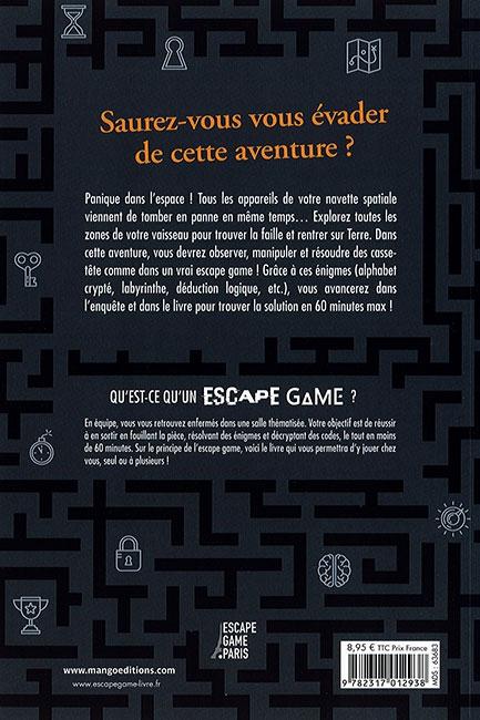 Destination terre - verso - Escape Game - Great Escape V3