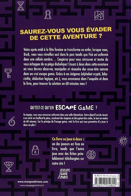 Prisonniers de la fête foraine - verso - Escape Game - Great Escape V2
