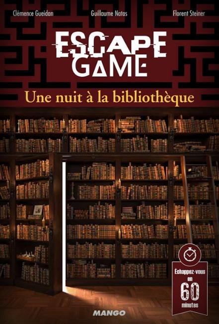 La nuit à la bibliothèque - Escape Game - Great Escape V3
