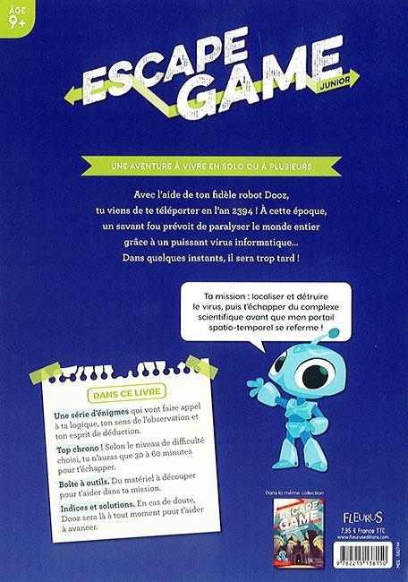 Le hacker fou - verso - Escape Game Kids - Great Escape V3
