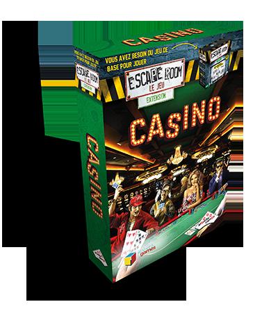 Escape Room Le Jeu - Boîte extension Casino - Escape Game - Jeu d'évasion - Great Escape medium