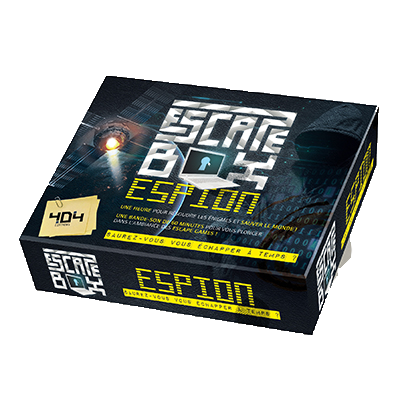 ESCAPE BOX - Espion