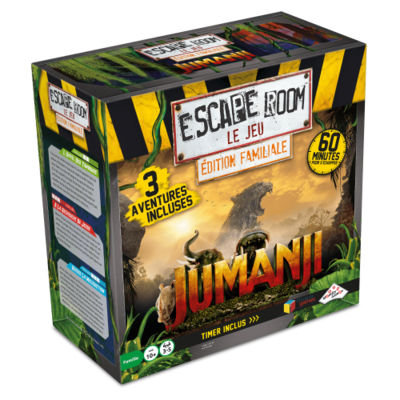ESCAPE ROOM LE JEU - JUMANJI Edition familiale