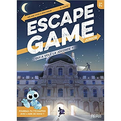 ESCAPE GAME Junior - Qui a volé la Joconde ?