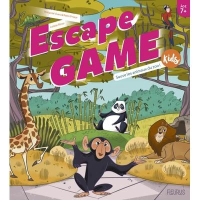 ESCAPE GAME Kids - Sauve les animaux du zoo !