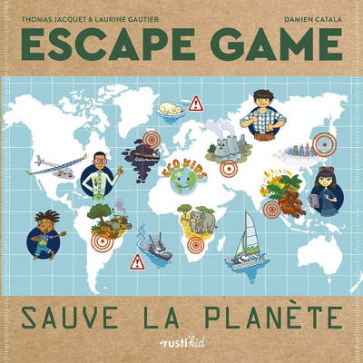 ESCAPE GAME Kids - Sauve la planète