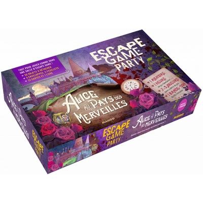 ESCAPE GAME Party - Alice au pays des merveilles