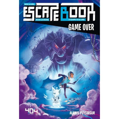 Escape Book - Game Over