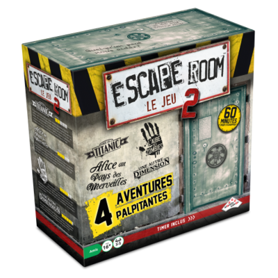 Escape Room le Jeu 2 - Coffret 4 aventures