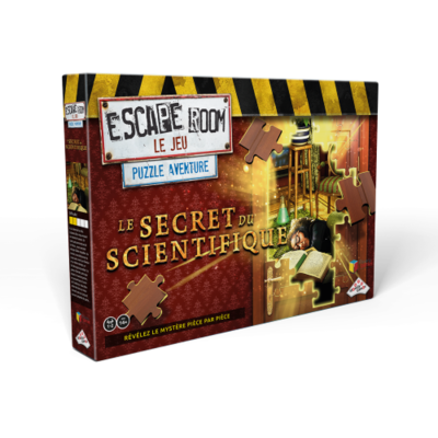 Escape Room le Jeu - Le secret du scientifique