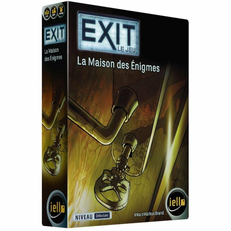 La maison des énigmes - Exit Le Jeu - Boîte - Escape Game - Great Escape