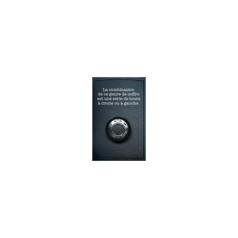 Escape box- Enquête - Indice 2 - Escape Games - Jeu de société dévasion - Escape rooms - Great Escape
