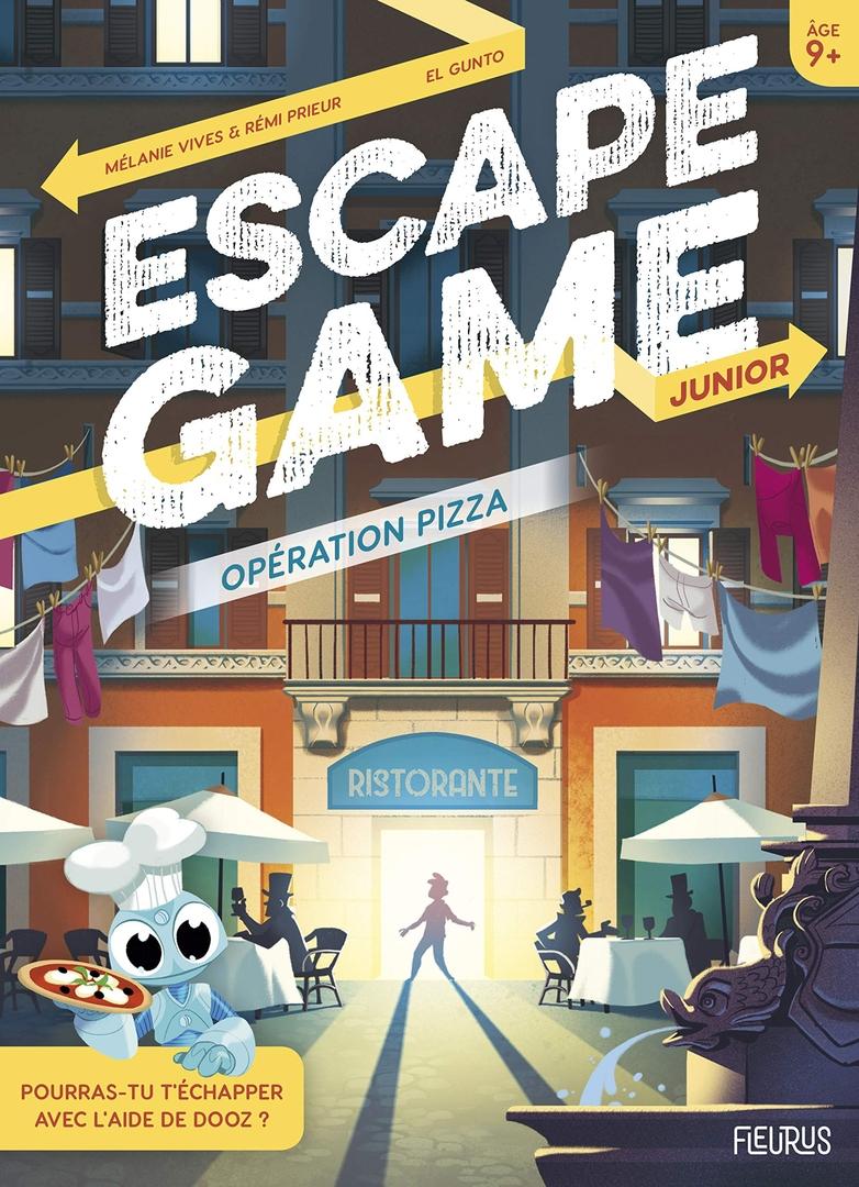 Opération pizza - Escape Game - Great Escape