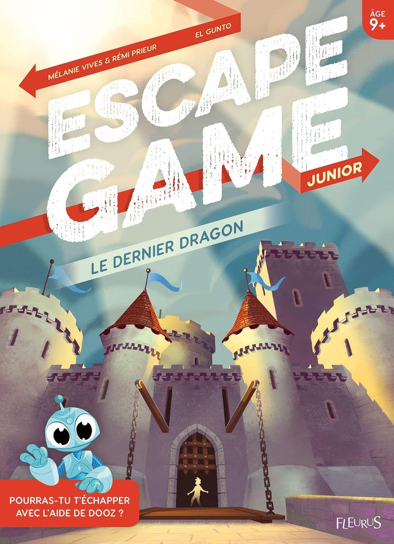 Le dernier dragon - Escape Game Kids - Great Escape - recto