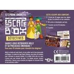 Escape box- Détectives - Escape Games - Jeu de société dévasion - Escape rooms - Great Escape - back