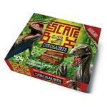 Escape box- Dinosaures - Escape Games - Jeu de société d'évasion - Escape rooms - Great Escape - Medium