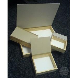 Boîte de transport en bois - 15*18cm