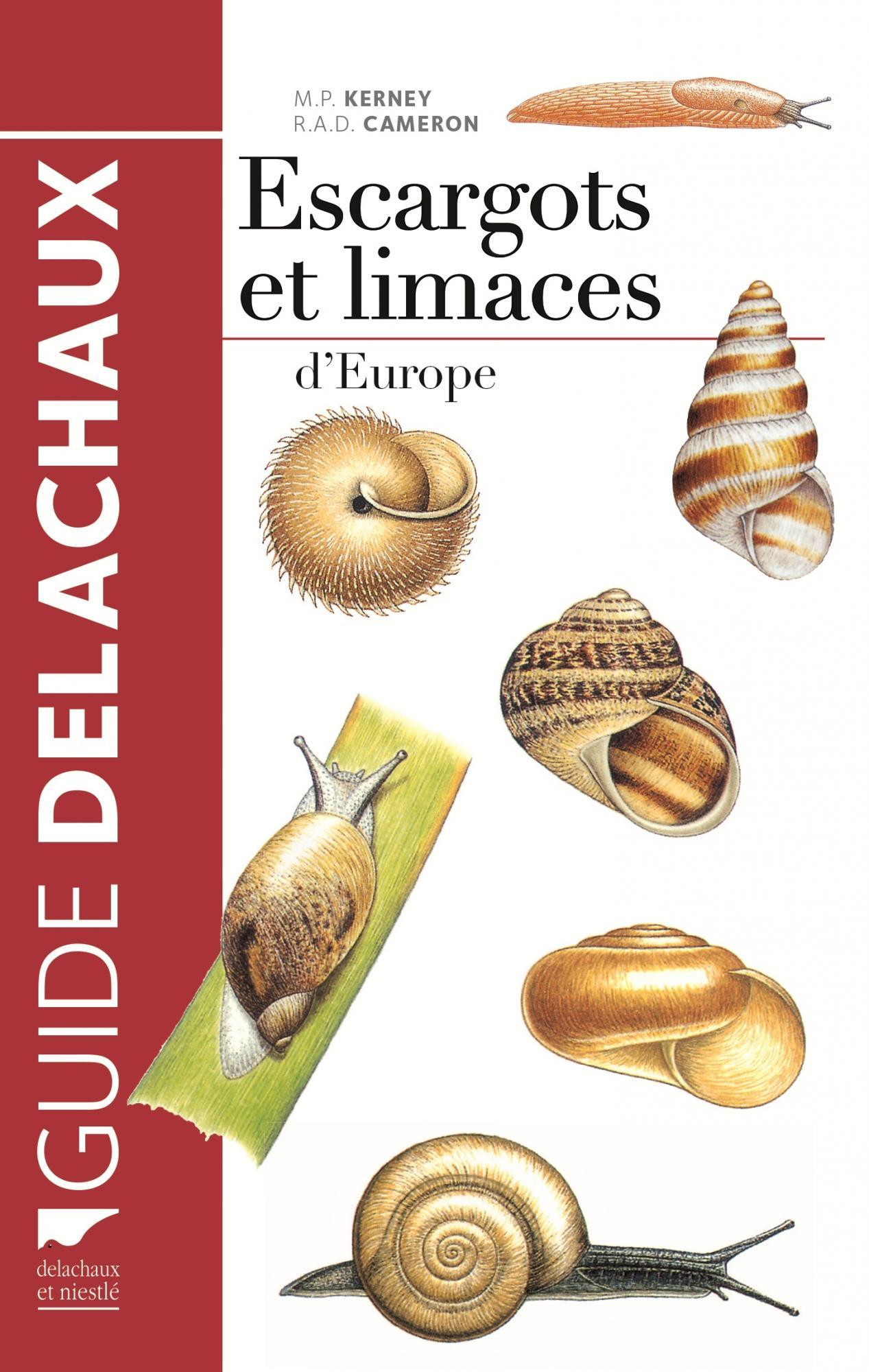 Guide des escargots et limaces d\'Europe